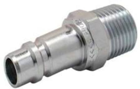 3/8 BSP TO ARO STAINLESS STEEL CONNECTOR