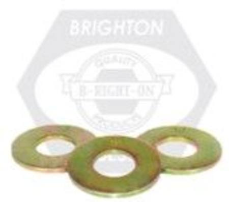 "Buy 3/8"" SAE THRU-HARDENED FLAT WASHER ZINC-YELLOW CR+6 PKT 100 in NZ."