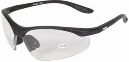 3110910 BIFOCAL SAFETY GLASSES x 1.0 MAGNIFICATION
