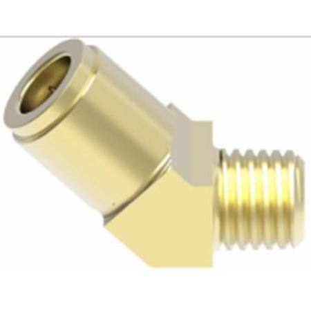 35005 1/2 TUBE x 1/2 NPT AIRBRAKE 45 DEGREE SWIVEL ELBOW