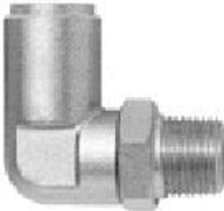35005 1/4 TUBE 1/8 NPT AIRBRAKE SWIVEL ELBOW