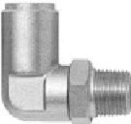 35005M 8mm TUBE 1/4 NPT AIRBRAKE SWIVEL ELBOW