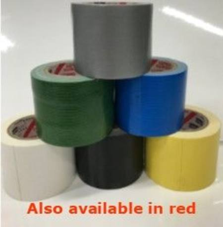 48mm 6METRE DUCT TAPE HANDY-ROLL ASSORTMENT 7PC