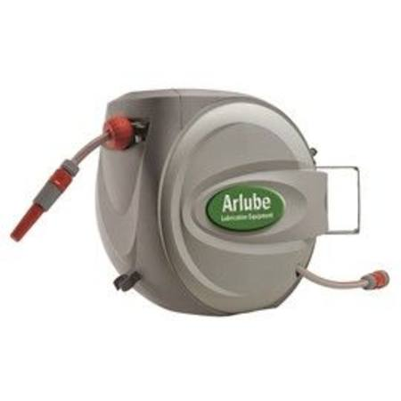 "Buy ARLUBE 20mtr x 1/2"" ID WATER HOSE REEL - 1/4 BSP MALE FITTING in NZ."
