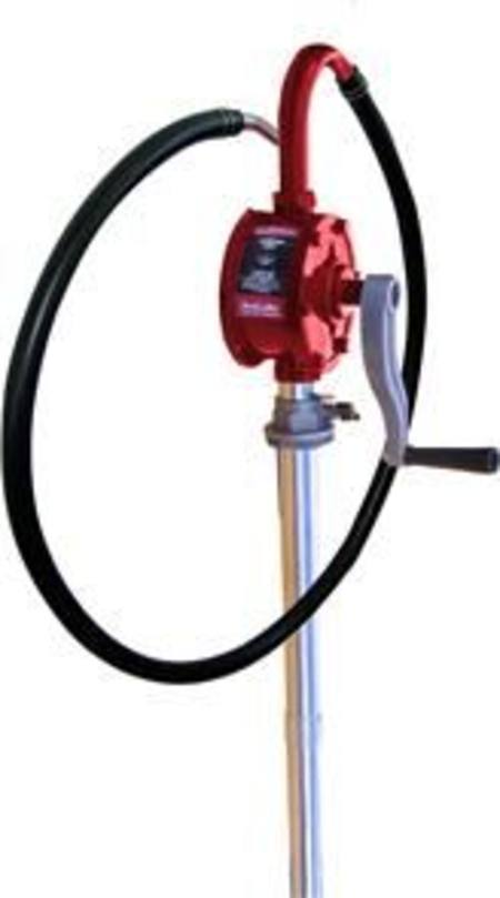 ARLUBE 60 - 205ltr ROTARY DRUM PUMP WITH HEAVY DUTY HOSE & NOZZLE