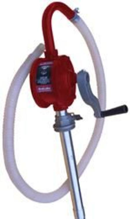 ARLUBE 60 - 205ltr ROTARY DRUM PUMP WITH POLY HOSE