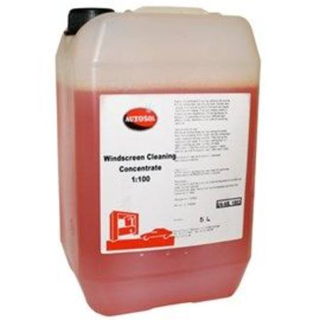 AUTOSOL WINDSCREEN CLEANER CONCENTRATE 5 LITRE