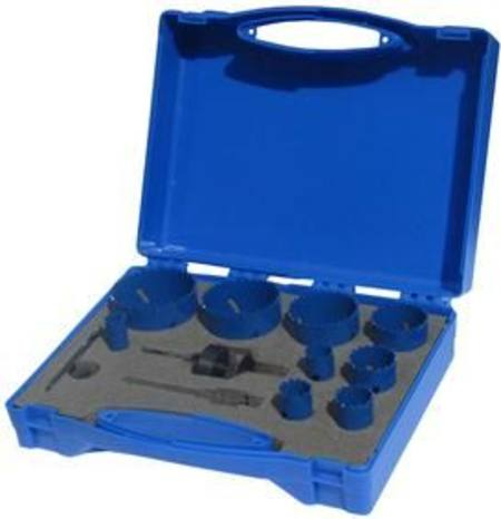 BLUMOL COBALT 13pc ELECTRICIAN'S HOLE SAW SET