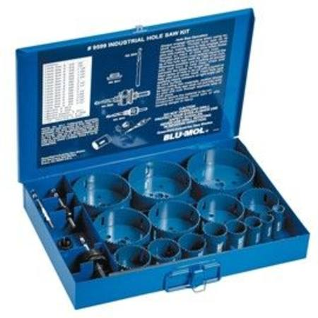 BLUMOL XTREME BI-METAL HOLESAW KIT 20PC SIZES 19 - 114MM