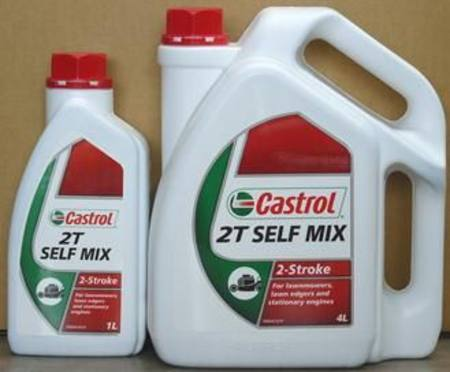 CASTROL GARDEN 2T SELF MIX 2 STROKE OIL 1ltr
