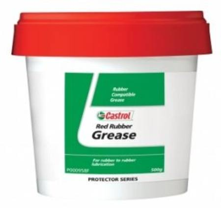 CASTROL GIRLING RED RUBBER GREASE 500gm POT