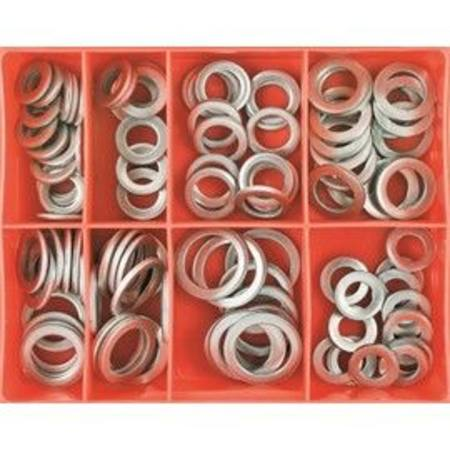CHAMPION ALUMINIUM SUMP PLUG WASHER ASSORTMENT 100pc