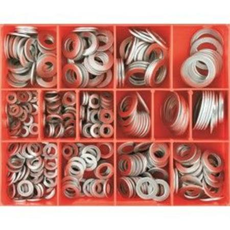 CHAMPION ALUMINIUM WASHER ASSORTMENT METRIC & IMPERIAL 315pc