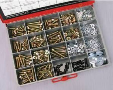 CHAMPION ASSORTED M8 FASTENER MASTER KIT 508pc