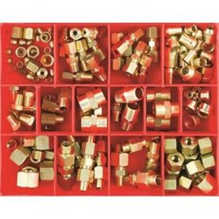 CHAMPION BRASS FITTINGS INDUSTRIAL - AUTO ASSORTMENT 155pc