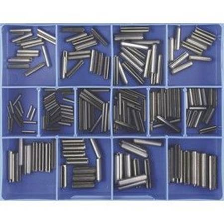 CHAMPION CA1815 STAINLESS STEEL METRIC ROLL PIN  ASSORTMENT 210PC