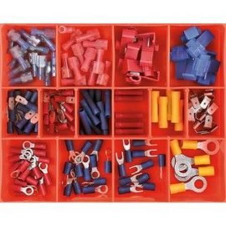 CHAMPION INSULATED WIRING TERMINAL ASSORTMENT 136pc