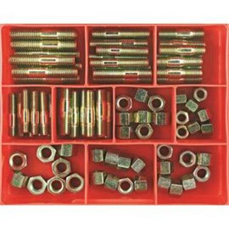 CHAMPION MANIFOLD STUDS & NUTS ASSORTMENT 80pc