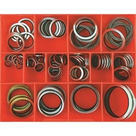 CHAMPION METRIC BONDED WASHER ASSORTMENT 91pc