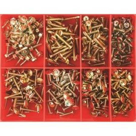 CHAMPION SELF DRILLING SCREW ASSORTMENT 400pc