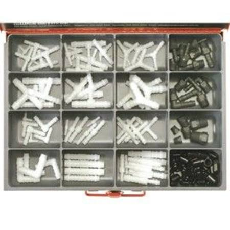 CHAMPION VACUUM HOSE TUBE CONNECTORS MASTER KIT 136pc