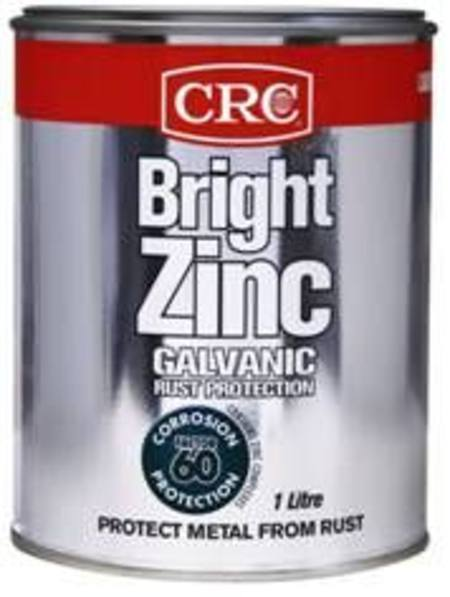 Buy CRC BRIGHT ZINC 1ltr TIN in NZ.