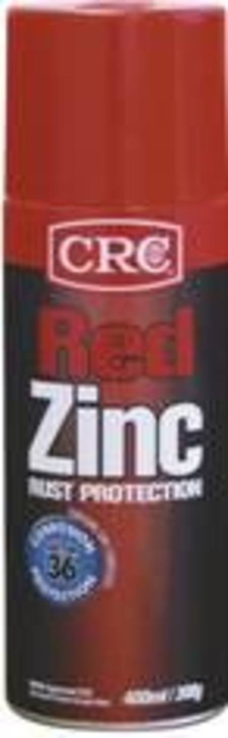 CRC RED ZINC RUST PROTECTION 400ml