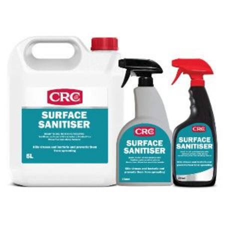 CRC SURFACE SANITISER CLEANER 5 LITRE