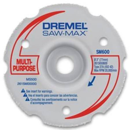 DREMEL SM600 MULTI-PURPOSE FLUSH CUT WHEEL