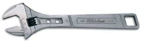 "EGAMASTER 8"" TITACHROME RUST RESISTANT ADJUSTABLE WRENCH"