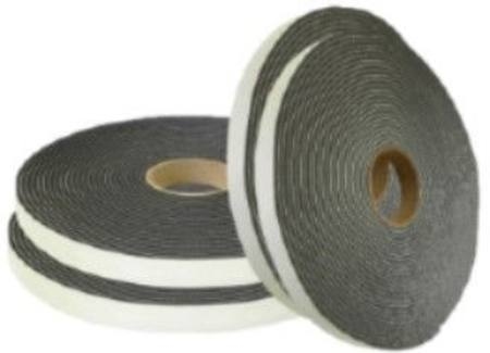 F1-710-5-R-012  RETAIL FOAM S/S SOFT TAPE 9.5MM X 12MM X 7 METRE ROLL BLACK