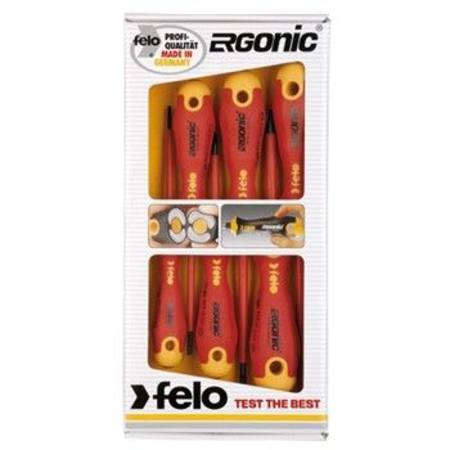 Buy FELO 413 SERIES 6pc ERGONIC SCREWDRIVER SET INSULATED in NZ.