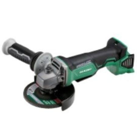 HIKOKI 18V BRUSHLESS 125mm 'SAFETY' ANGLE GRINDER BARE TOOL