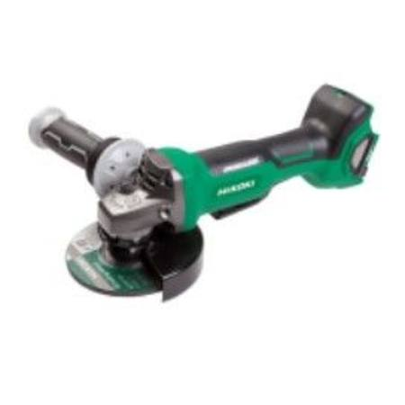 HIKOKI 36V BRUSHLESS 125mm 'SAFETY' ANGLE GRINDER BARE TOOL