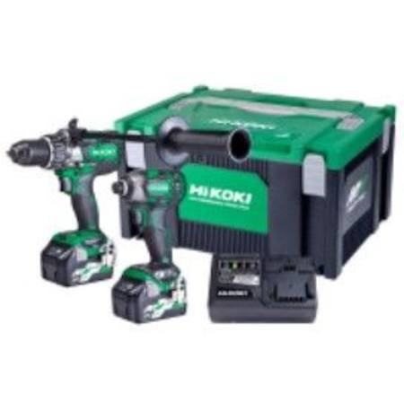 HIKOKI 36V BRUSHLESS IMPACT DRILL & IMPACT DRIVER KIT