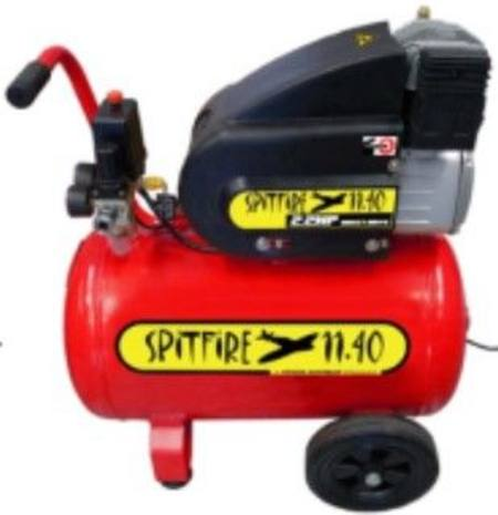 HINDIN SPITFIRE 1140 4.5CU FT  2 HP AIR COMPRESSOR 40 LITRE TANK