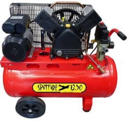 HINDIN SPITFIRE 1350 11CFM  AIR COMPRESSOR WITH 50 LITRE TANK