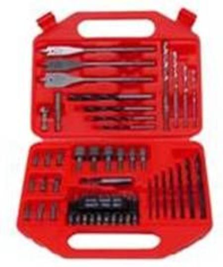 HITACHI 41pc RED CASE DRILL SET WITH POWER BITS