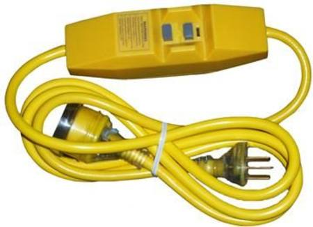 HPM R5102/1 SAFETY SWITCH WITH 2mtr YELLOW HEAVY DUTY LEAD