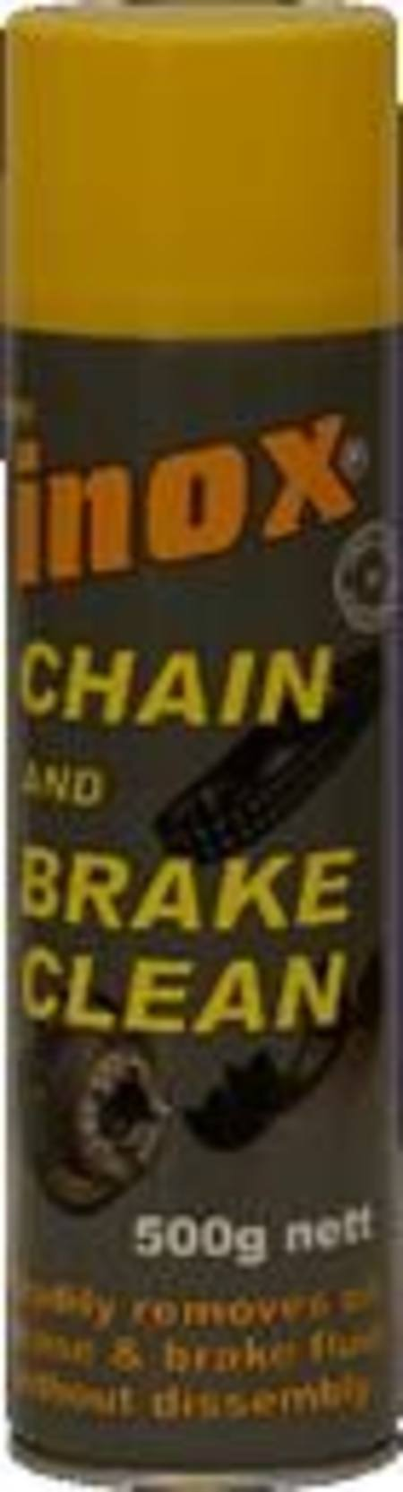 Buy INOX MX11 CHAIN AND BRAKE CLEAN 500gm AEROSOL in NZ.