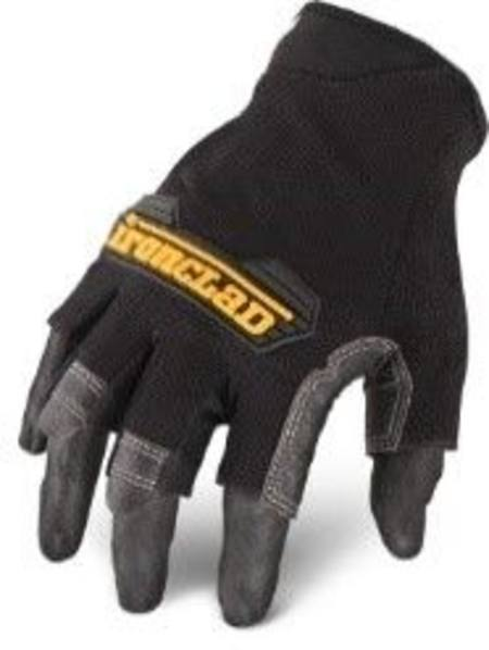 IRONCLAD MACH-5 FINGERLESS GLOVES LARGE SIZE