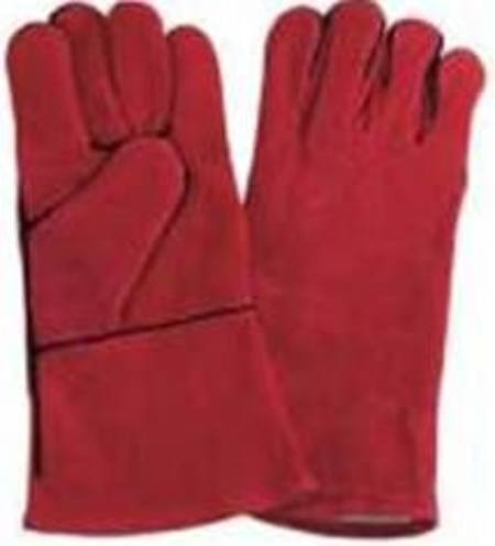 KEVLAR STITCHED RED WELDING GLOVES PER PAIR
