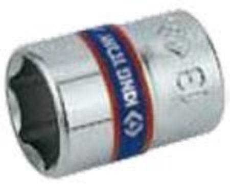 KING TONY 1/4dr 4mm STD S/HEX SOCKET
