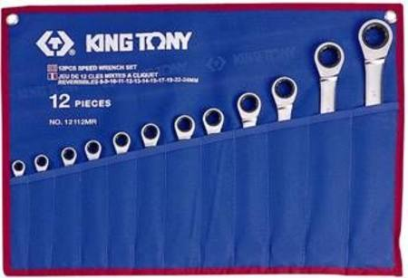 Buy KING TONY 12pc METRIC STANDARD SPEED WRENCH SET 8-24mm -BONUS KT1211MRN & 35th ANNIVERSARY TRUCK (15/10-21/12/20) in NZ.