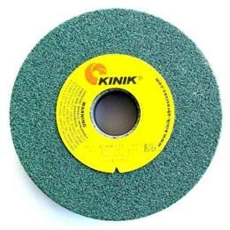 KINIK 205 x 19mm MULTI BORE GC060 GREEN SILICONE CARBIDE GRINDING WHEEL