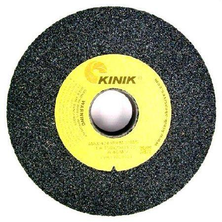 KINIK 205 x 25mm MULTI BORE A24 DARK GREY GENERAL PURPOSE GRINDING WHEEL