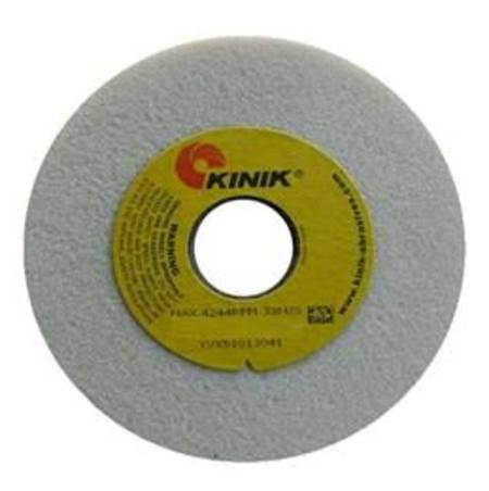 KINIK 205 x 25mm MULTI BORE WA46 WHITE ALUMINIUM OXIDE GRINDING WHEEL