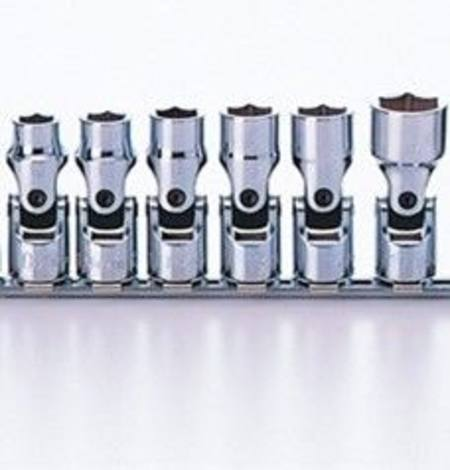 Buy KOKEN 3/8dr 5 - 12mm UNIVERSAL SOCKET SET ON RAIL 8pc in NZ.