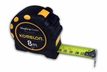 KOMELON 8mtr x 25mm K-32 MAG GRIP TAPE MEASURE