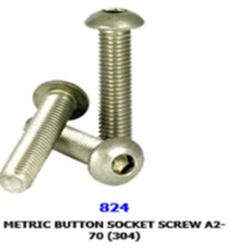 Buy M3 x 0.50 x 6mm 304 STAINLESS STEEL  BUTTON HEAD SOCKET SCREW in NZ.